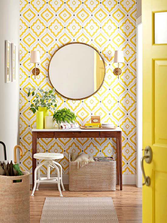 Decorating with Geometric Patterns