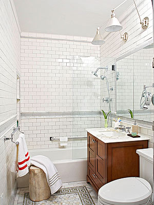 Make A Small Bath Look Larger - Small bath design ideas for small bathroom ideas