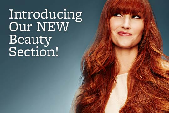 Introducing Our NEW Beauty Section!