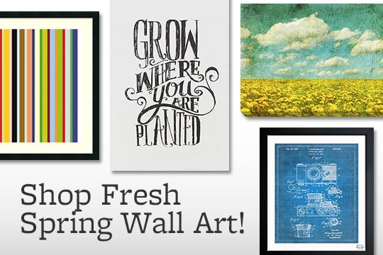 Shop Fresh Spring Wall Art!