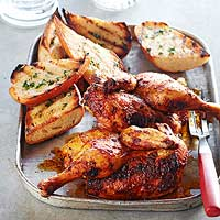 Grilled Main: Chicken