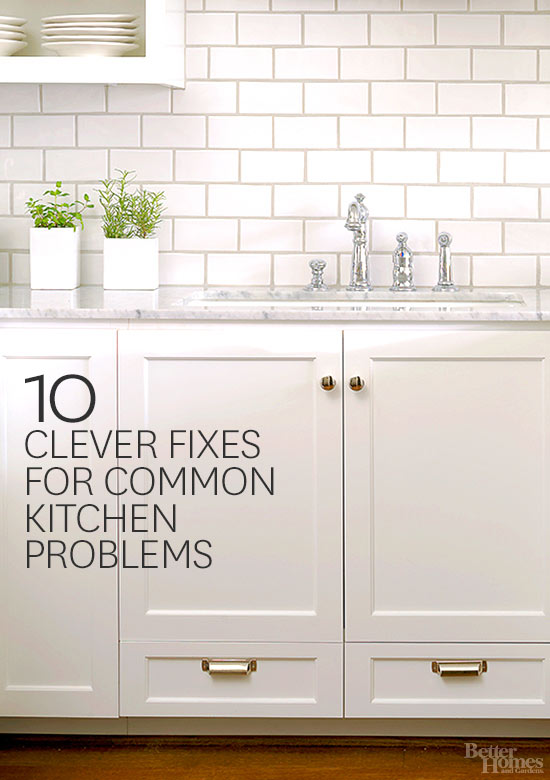 10 Clever Fixes for Common Kitchen Problems