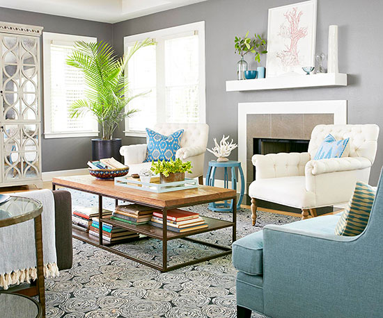 Living Room Color Scheme: Inviting Modern