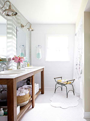 Bath Makeovers Under $2,000