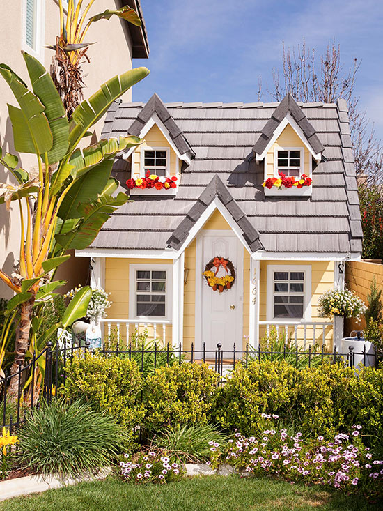 Playhouse plans better homes gardens House design plans