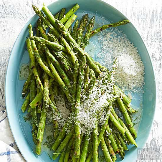 Cooking with fruits and vegetables grilled asparagus in dill butter ccuart Gallery