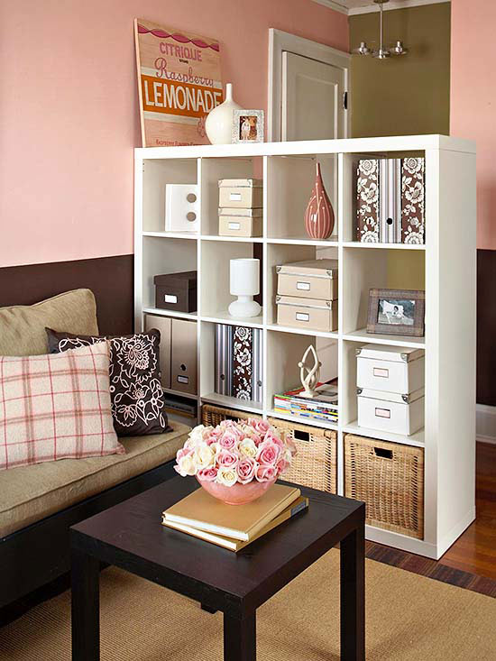 Studio Apartment Storage Ideas Part - 47: Storage Solution: Shelves