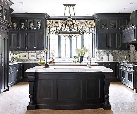 Is This The Most Dramatic Kitchen Ever