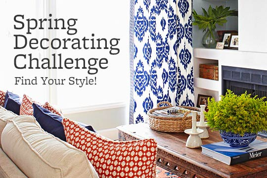 Spring Decorating Challenge