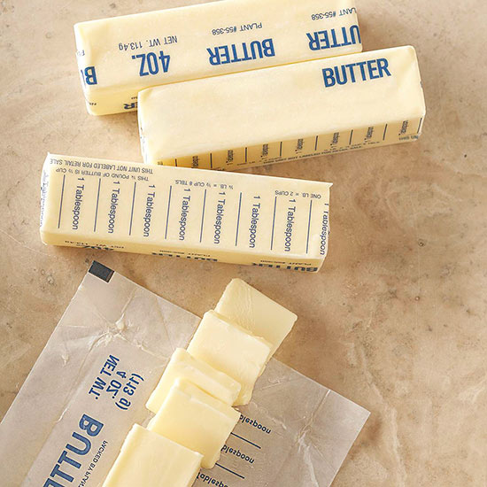 Butter substitutes in cookie recipes