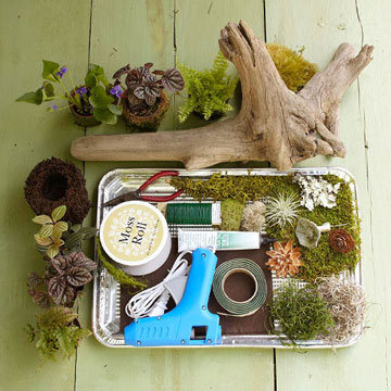 Make a Woodland Tabletop Scene