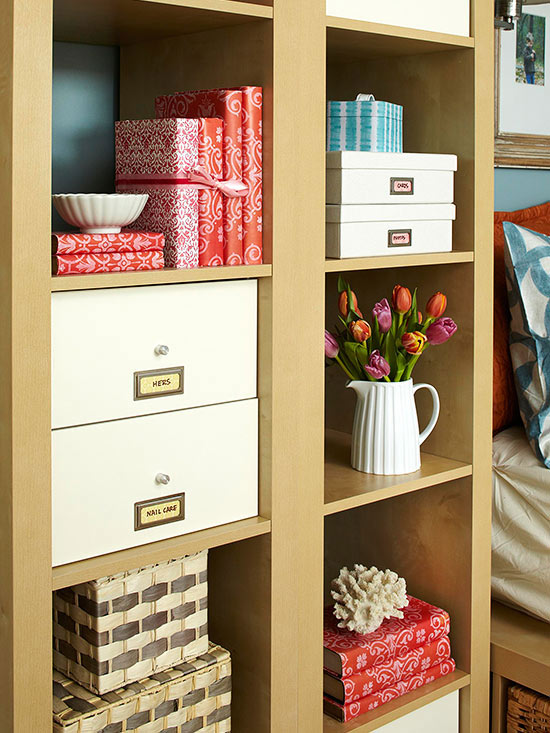 Master bedroom storage