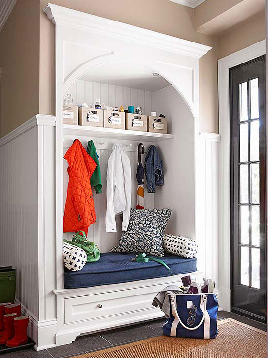 Storage Solutions for Your Mudroom