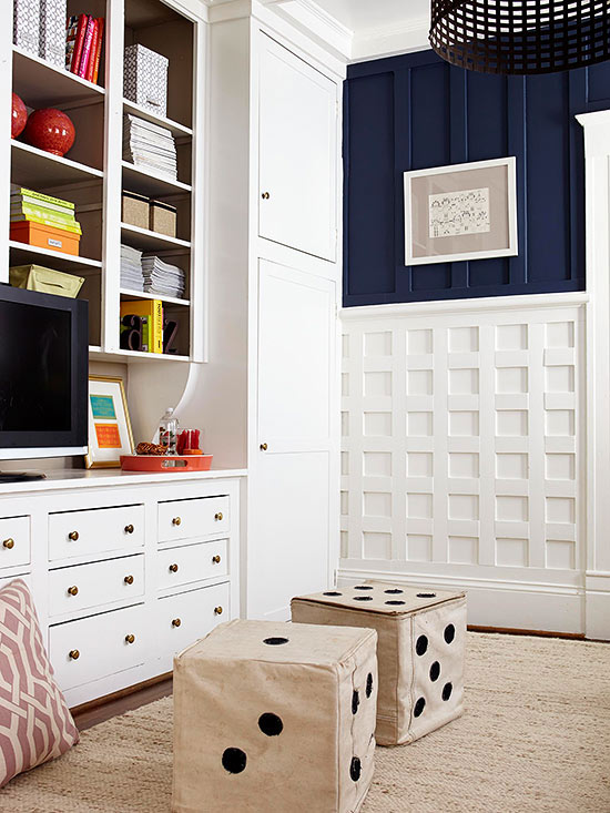 14 Creative Storage Ideas for Your Family Room
