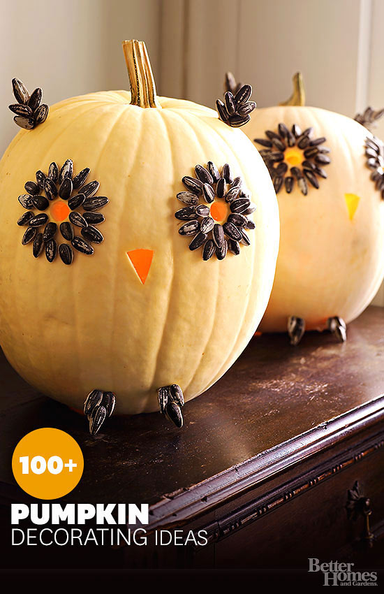 pumpkin decorating ideas - Decorated Halloween Pumpkins