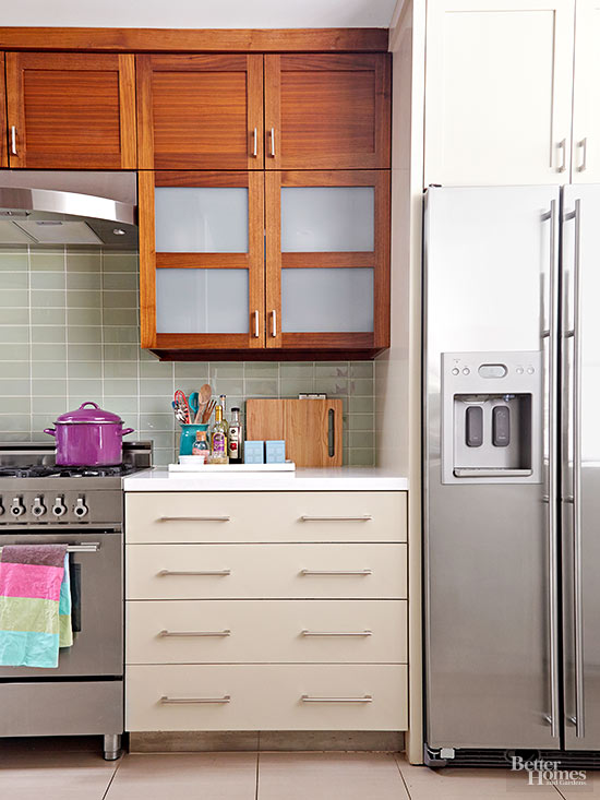 Mix and match cabinets for Bhg kitchen design