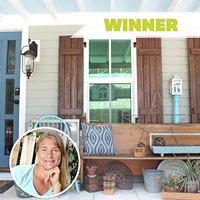 Upcycled Porch Makeover