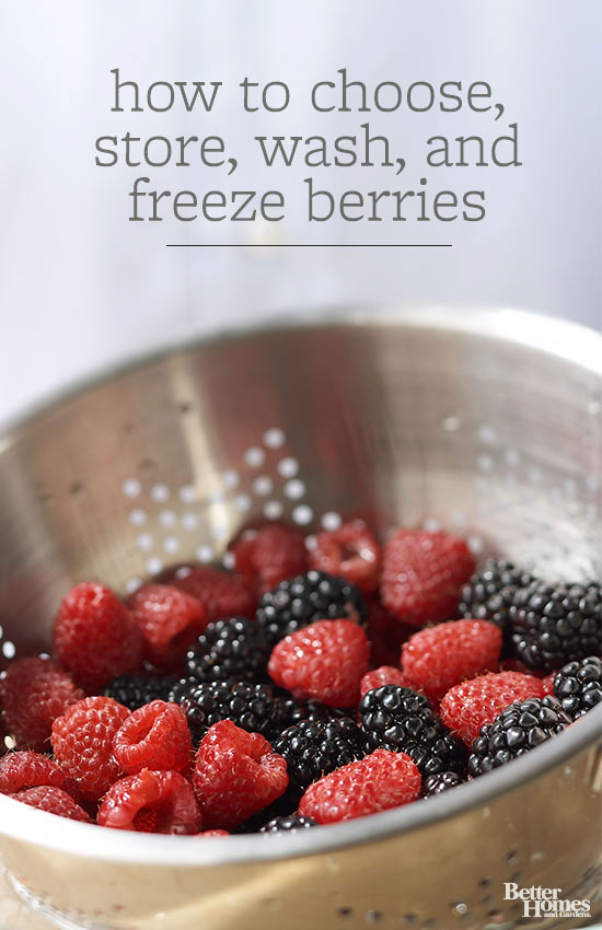 How to Choose, Store, Wash, and Freeze Berries