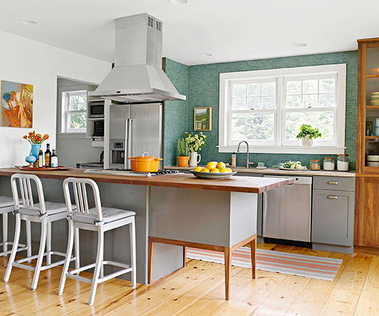 If The Heart Of Your Home Needs A Fresh New Look, You Can Find Plenty Of  Ways To Add Style Without Breaking The Bank. Three Of The Most Common  Updates ...