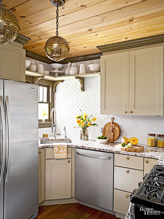 Classic and eclectic for Bhg kitchen design