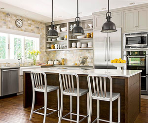Kitchen Pendant Lighting Ideas Classy Kitchens With Pendant Lighting Review