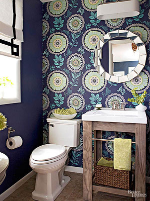 Baths with Stylish Color Combinations Green Bathroom Design Ideas