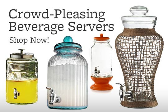 Crowd-Pleasing Beverage Servers -- Shop Now!