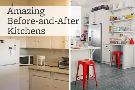 Amazing Before-and-After Kitchens