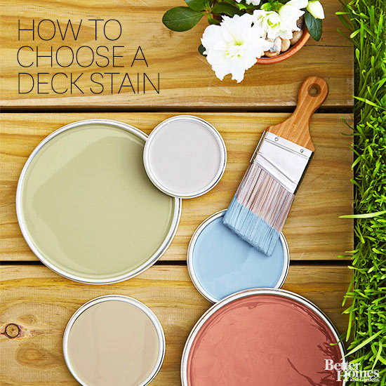 deck stain colors better homes and gardens