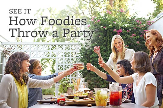 How Foodies Throw a Party