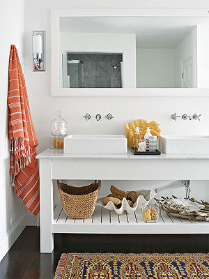 Freshen Your Bathroom with Low-Cost Updates