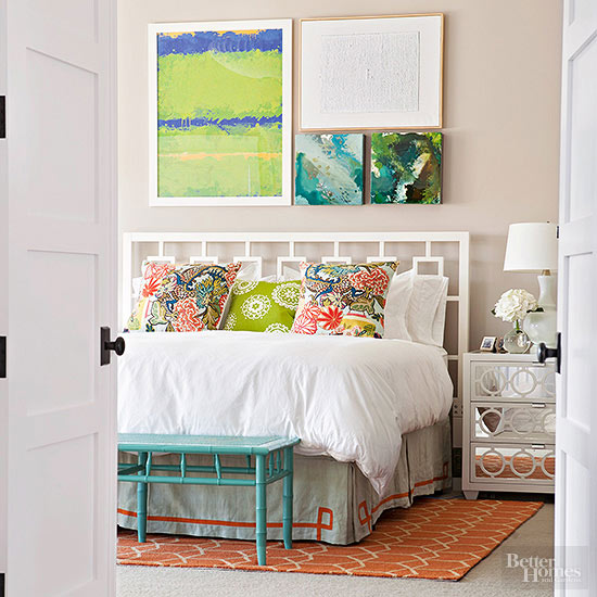calm yet colorful - Decorate Bedrooms