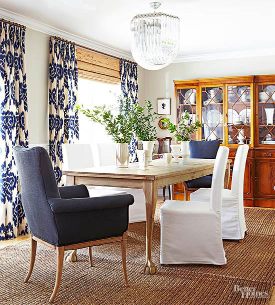 Dining Room Area Rug Placement Size