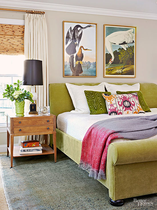 Freshen your bedroom with low cost updates - Small bedroom decorating ideas on a budget ...