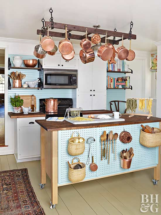 6 space saving tools for tiny kitchens for Small kitchen space saving ideas