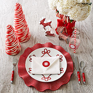 Gorgeous Holiday Place Settings