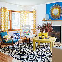 Bold & Colorful Makeover