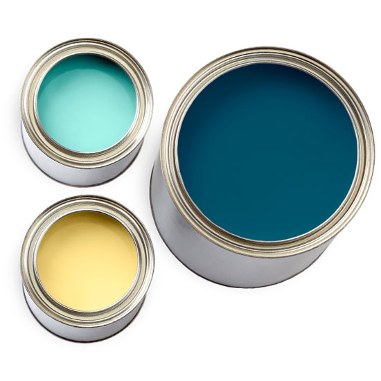 Creative color combinations for Blue and yellow paint combinations