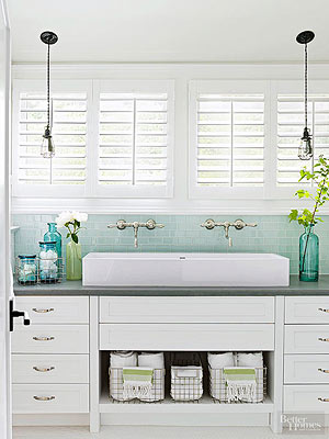 ladder towel rack with baskets towel display ideas for bathrooms