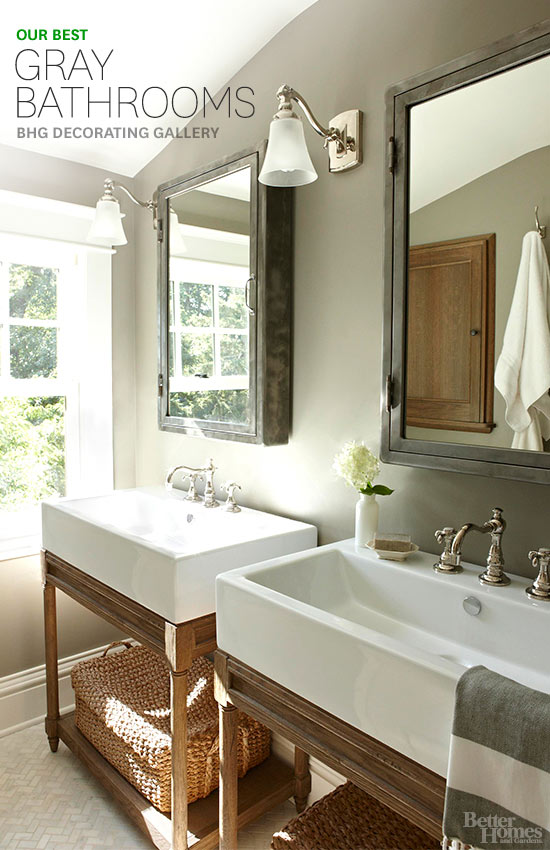 Gray Bathroom Magnificent Gray Bathroom Design Inspiration
