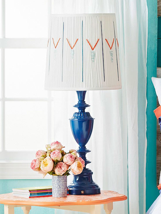 Stitched Lampshade