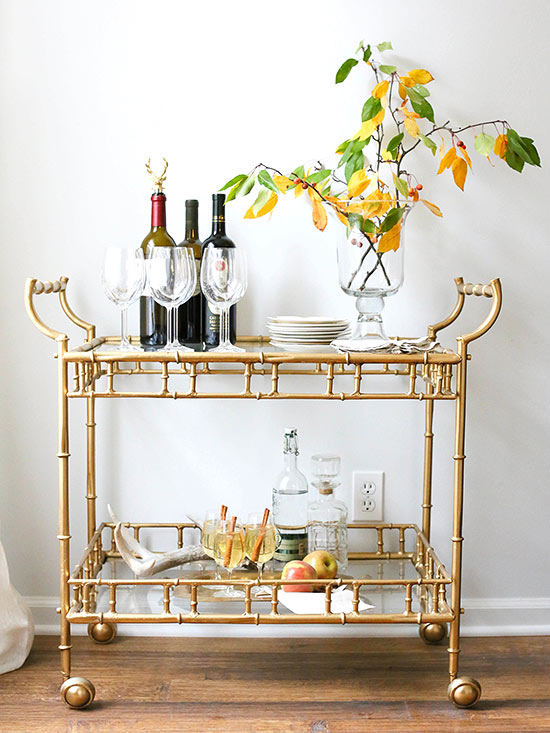 Our Favorite Blogger Bar Carts