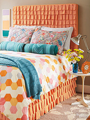 DIY Headboard Projects - Better Homes and Gardens - BHG.com