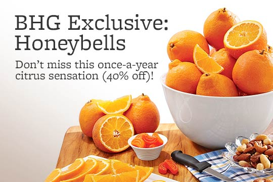 BHG Exclusive: Honeybells -- Don't miss this once-a-year citrus sensation (40% off)!