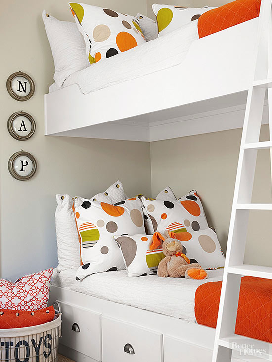 Sharing A Bedroom Is Hard Enough, Let Alone In A Small Space. Gain Extra  Storage With Custom Furniture Pieces Like This Drawer Wielding Bed Frame.