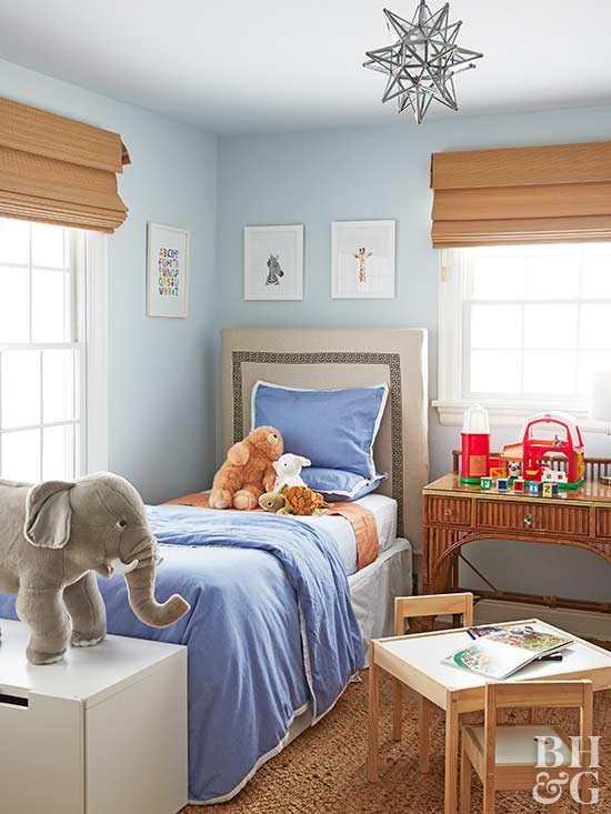 how to clean a child's bedroom