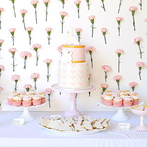 Pretty Pink Baby Shower