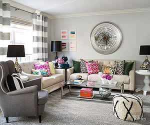 This DIY Home Mixes Patterns Like A Pro