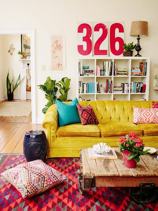bohemian decor decorating bhg