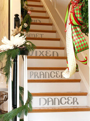 9 Unexpected Places To Add Holiday Decor